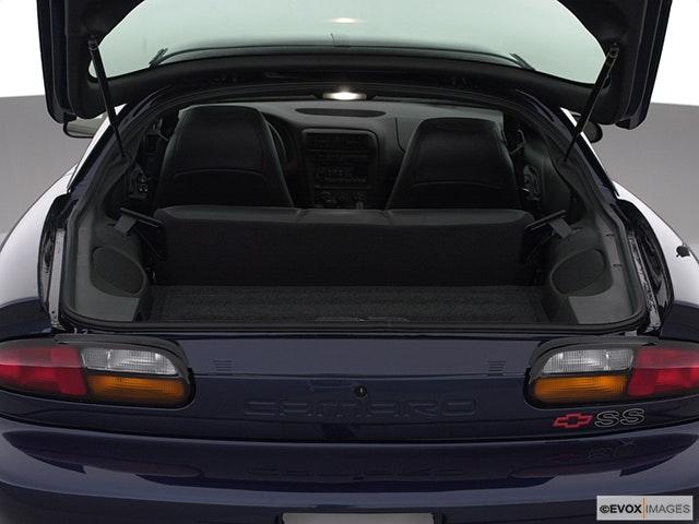 2000 Chevrolet Camaro Trunk open