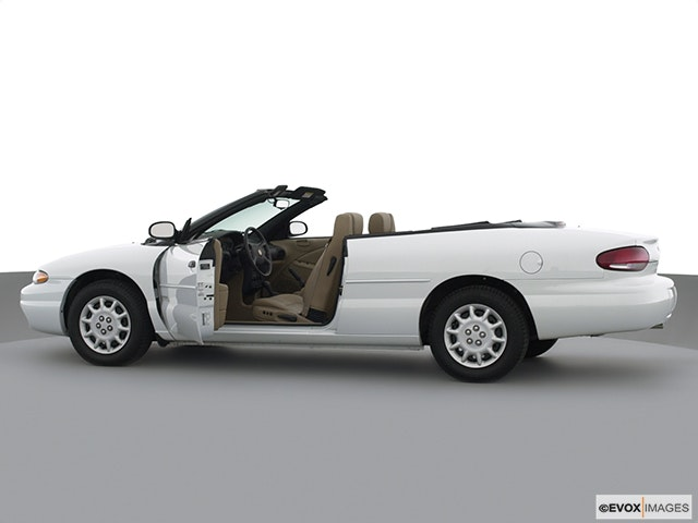2000 Chrysler Sebring Driver's side profile with drivers side door open
