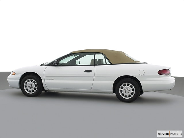2000 Chrysler Sebring Drivers side profile, convertible top up (convertibles only)
