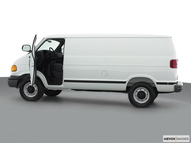 2000 Dodge Ram Van Driver's side profile with drivers side door open
