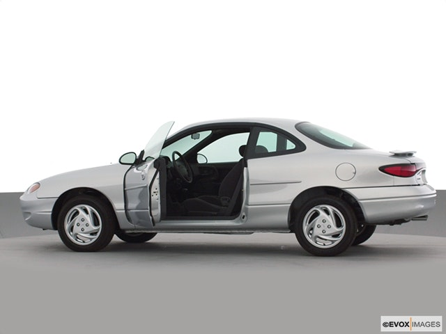 2000 Ford Escort Driver's side profile with drivers side door open