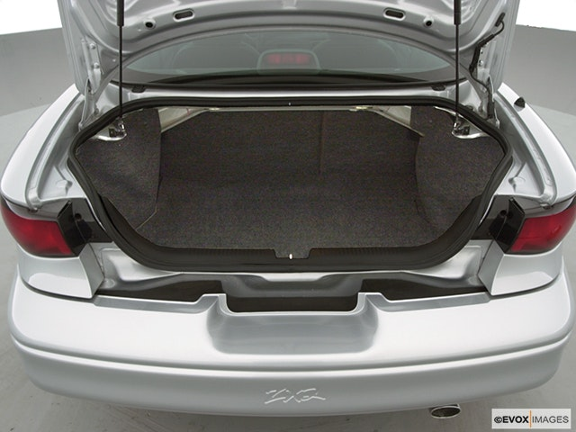 2000 Ford Escort Trunk open