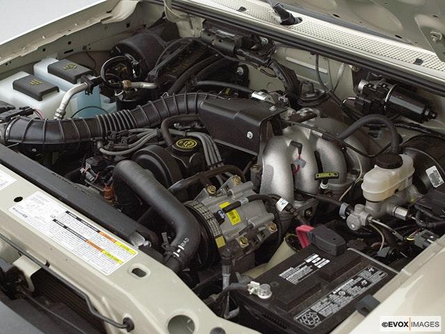 2000 Ford Ranger Engine