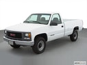 2000 GMC Sierra 2500 Front angle view