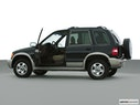 2000 Kia Sportage Driver's side profile with drivers side door open