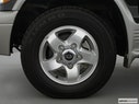 2000 Kia Sportage Front Drivers side wheel at profile