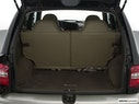 2000 Kia Sportage Trunk open