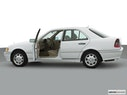 2000 Mercedes-Benz C-Class Driver's side profile with drivers side door open