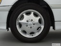 2000 Mercedes-Benz C-Class Front Drivers side wheel at profile