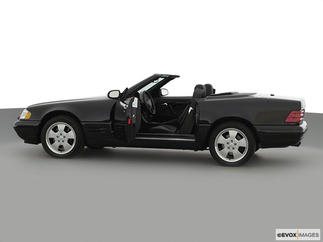 2000 Mercedes-Benz SL-Class Driver's side profile with drivers side door open