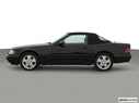 2000 Mercedes-Benz SL-Class Drivers side profile, convertible top up (convertibles only)