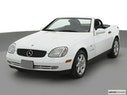 2000 Mercedes-Benz SLK Front angle view
