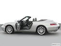 2000 Porsche 911 Driver's side profile with drivers side door open