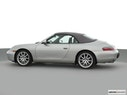2000 Porsche 911 Drivers side profile, convertible top up (convertibles only)