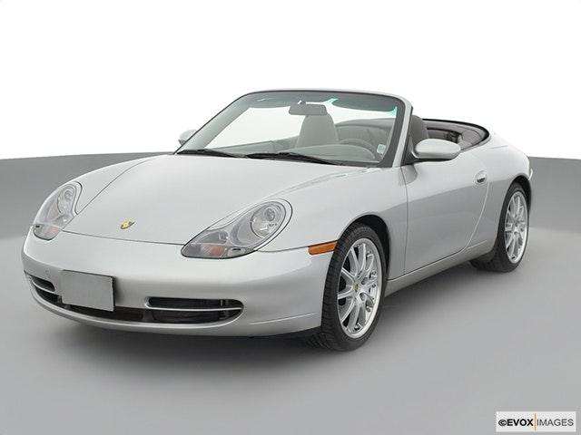 2000 Porsche 911 Front angle view
