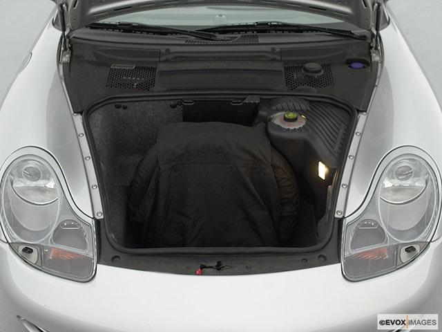2000 Porsche 911 Trunk open