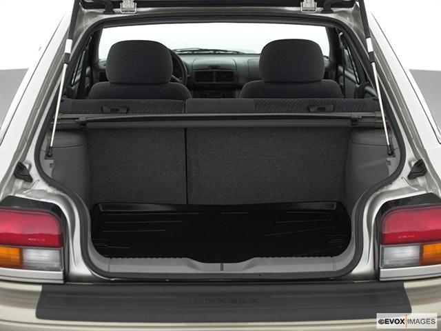 2000 Subaru Impreza Trunk open