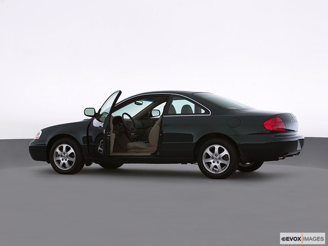 2001 Acura CL Driver's side profile with drivers side door open