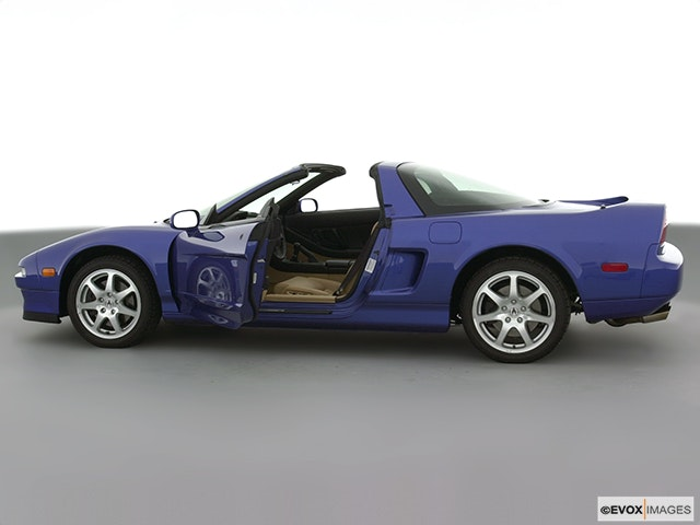 2001 Acura NSX Driver's side profile with drivers side door open