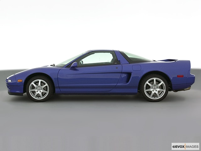 2001 Acura NSX Drivers side profile, convertible top up (convertibles only)