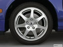 2001 Acura NSX Front Drivers side wheel at profile