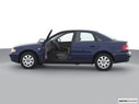 2001 Audi A4 Driver's side profile with drivers side door open