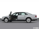 2001 Audi A8 Driver's side profile with drivers side door open