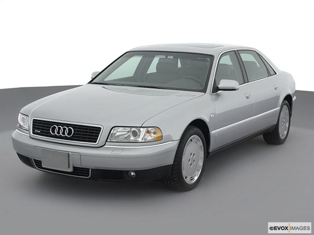 2001 Audi A8 Front angle view