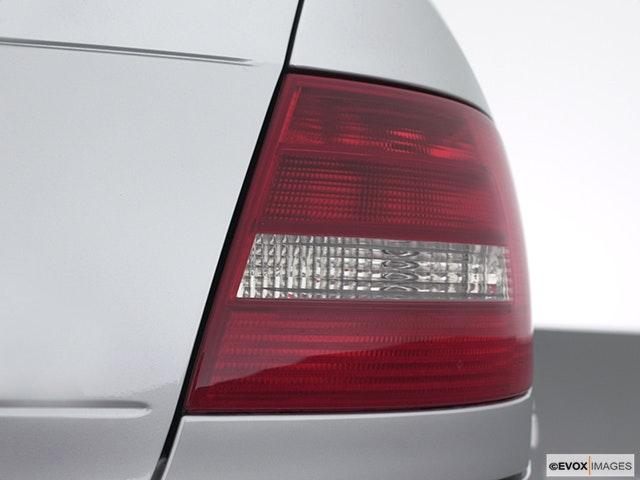 2001 Audi S4 Passenger Side Taillight