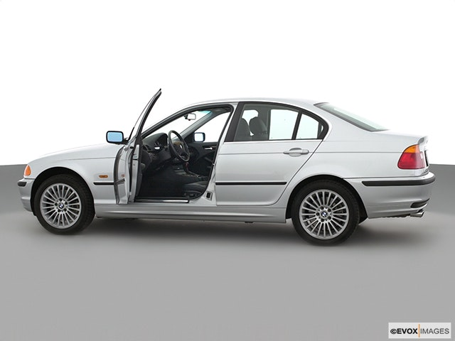 2001 BMW 3 Series Driver's side profile with drivers side door open