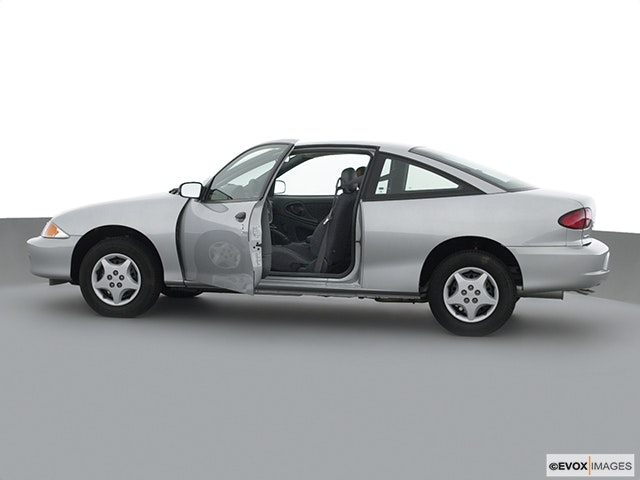 2001 Chevrolet Cavalier Driver's side profile with drivers side door open