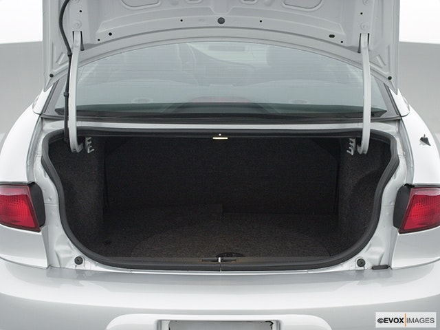 2001 Chevrolet Cavalier Trunk open