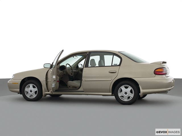 2001 Chevrolet Malibu Driver's side profile with drivers side door open