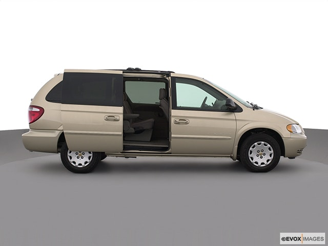 2001 Chrysler Town and Country Passenger's side view, sliding door open (vans only)