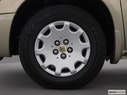 2001 Chrysler Town and Country Front Drivers side wheel at profile