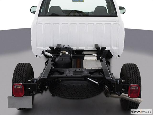 2001 Dodge Ram Pickup 2500 Trunk open