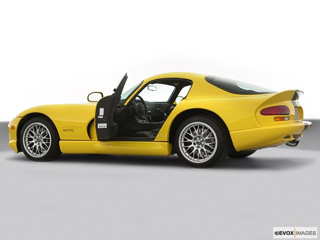 2001 Dodge Viper Driver's side profile with drivers side door open