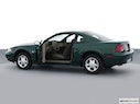 2001 Ford Mustang Driver's side profile with drivers side door open