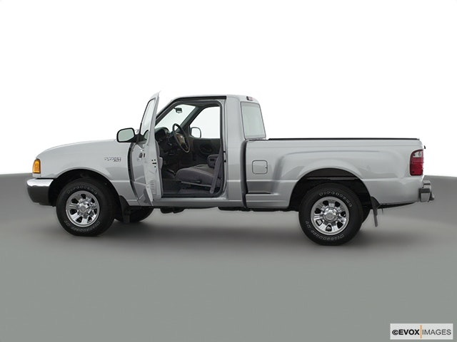 2001 Ford Ranger Driver's side profile with drivers side door open