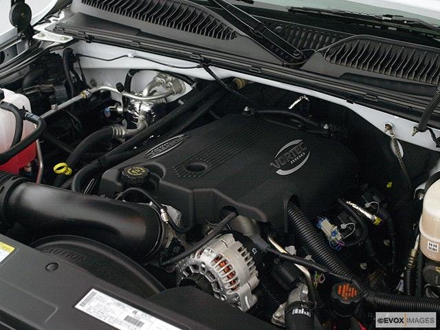 2001 GMC Sierra 2500HD Engine