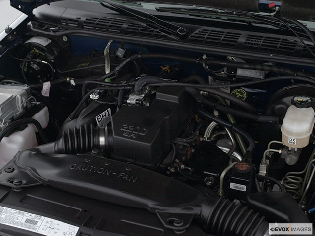 2001 GMC Sonoma Engine