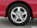 2001 Hyundai Tiburon Front Drivers side wheel at profile