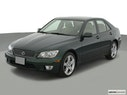 2001 Lexus IS 300 Front angle view