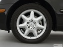 2001 Mercedes-Benz C-Class Front Drivers side wheel at profile