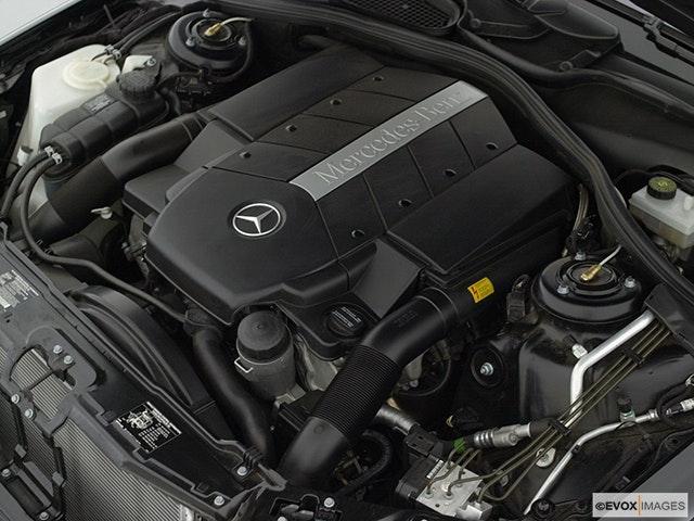 2001 Mercedes-Benz S-Class Engine