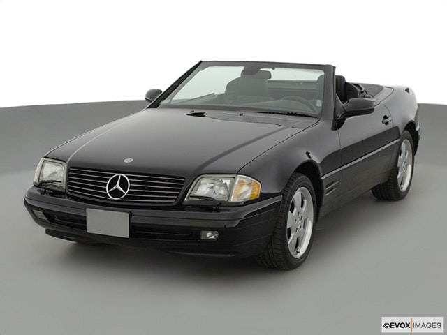 2001 Mercedes-Benz SL-Class Front angle view