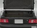 2001 Mercedes-Benz SL-Class Trunk open