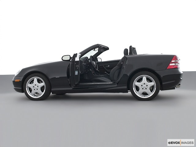 2001 Mercedes-Benz SLK Driver's side profile with drivers side door open
