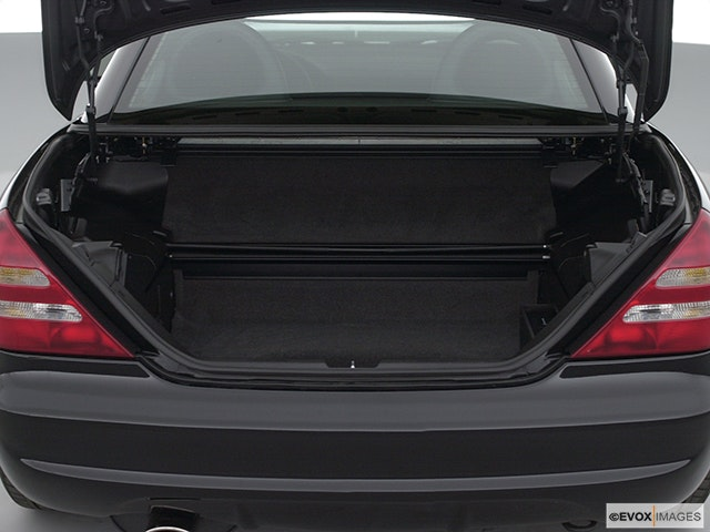 2001 Mercedes-Benz SLK Trunk open