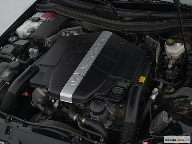2001 Mercedes-Benz SLK Engine